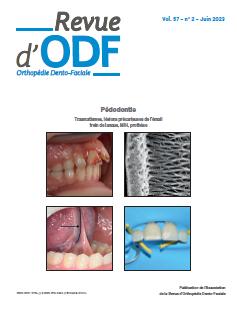 Revue d'Orthopédie Dento-Faciale